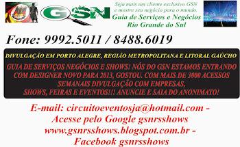 GSNRS SEU GUIA DE SERVIÇOS E SHOWS!!!
