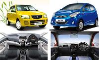 Comparison Review: Maruti Suzuki Alto versus Hyundai Eon: Interior & Exterior