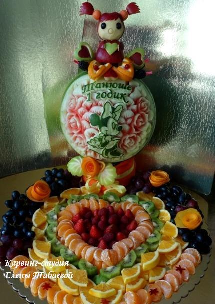 фруктовая композиция на заказ южно-сахалинск