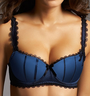 Lucia Padded Bra Persian Blue by Fauve.