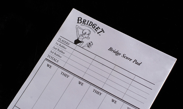 Bridge workout pics bridge score sheets for 4 table progressive game tally sheet