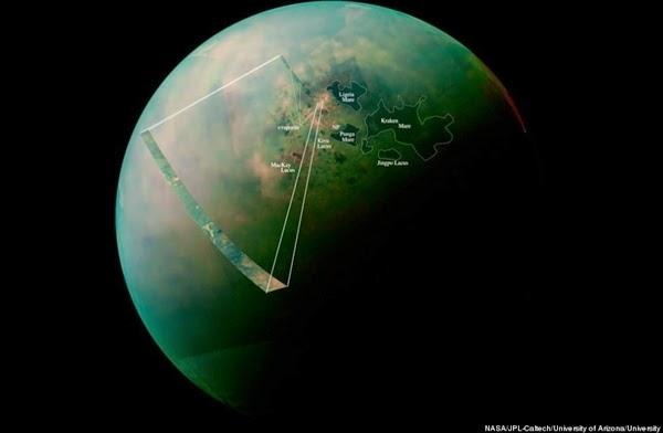 Ada Danau di Titan, Satelit Alami Terbesar Milik Saturnus