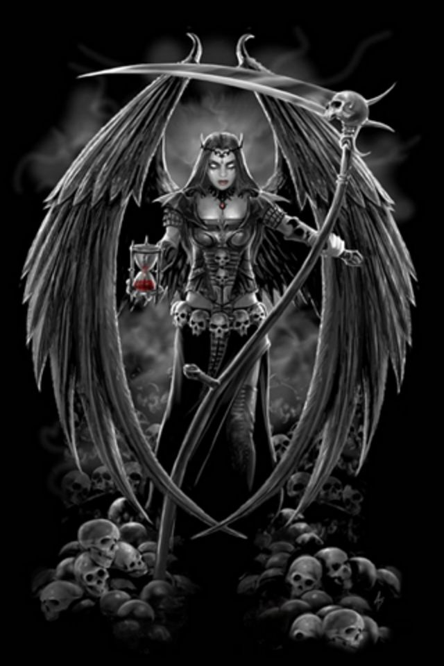Hd iphone wallpaper angel of death angel of death iphone wallpaper voltagebd Images