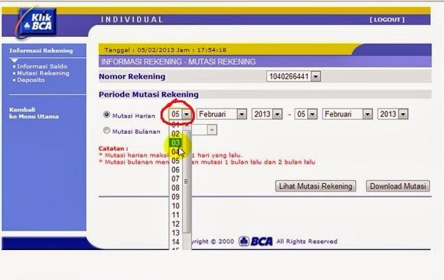 Internet Banking - KlikBCA