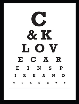 It's just a photo of Inventive Free Printable Kindergarten Eye Chart