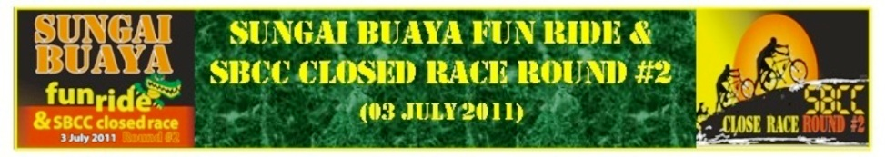 SUNGAI BUAYA FUN RIDE &                                               SBCC CLOSED RACE ROUND #2