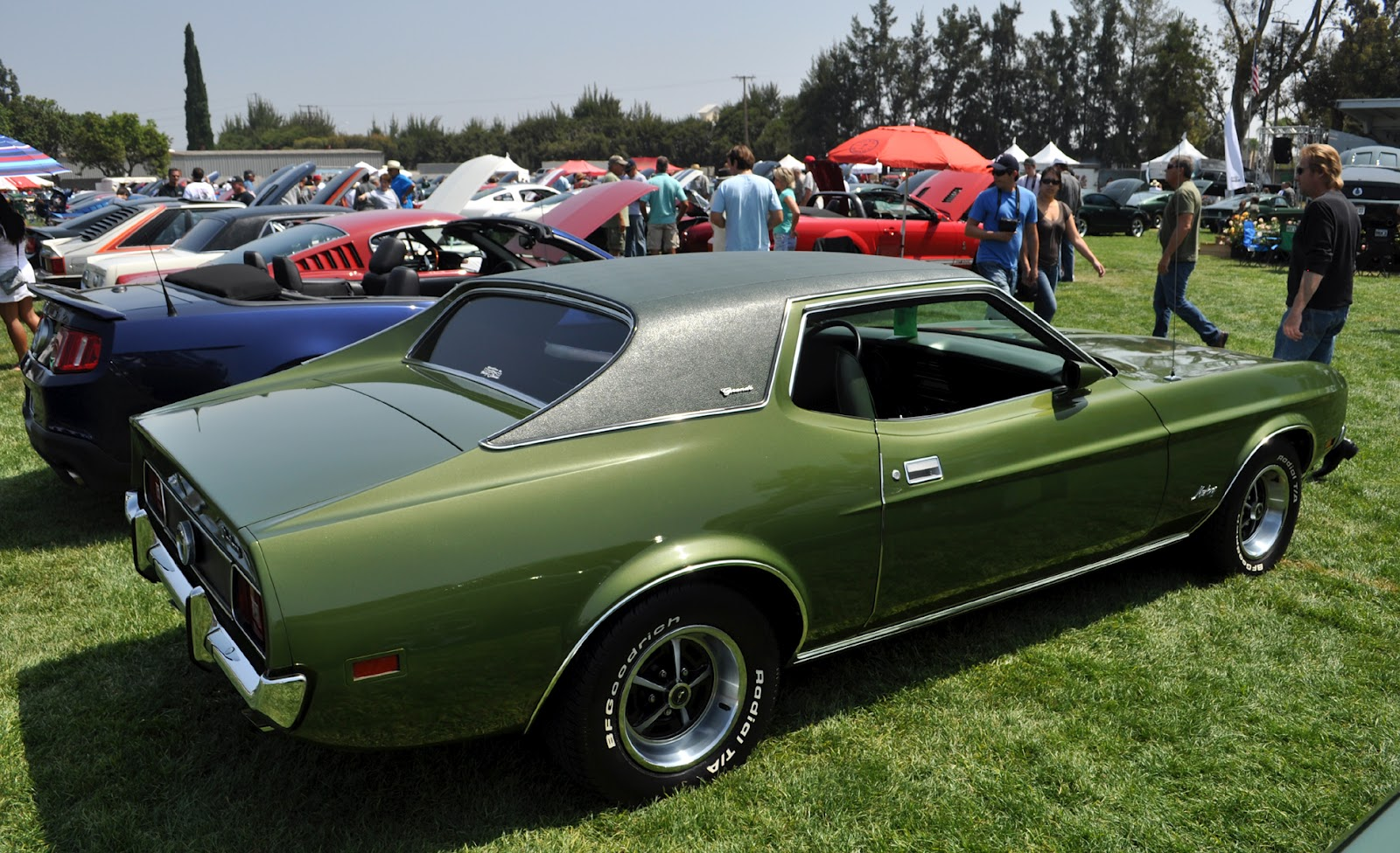 Just A Car Guy Mustang Grande 1969 Or 70 I Think Wiring Diagrams Of 1963 Plymouth 6 Savoy Belvedere And Fury Part 1 The Interior Is In Cherry Condition