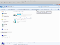 Map Network Drive (shortcut network location on windows 7)
