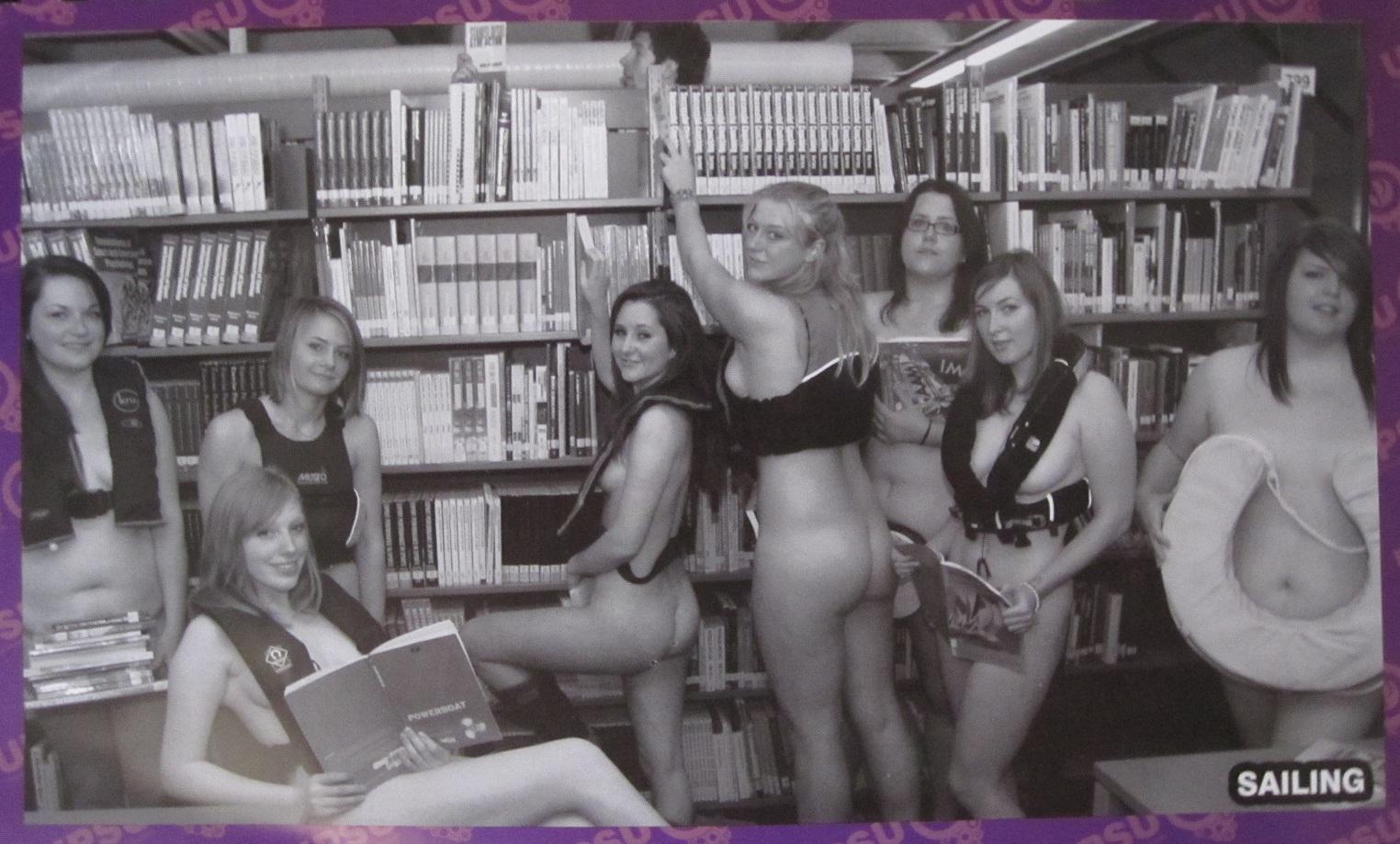 University of Portsmouth Students Union naked calendar