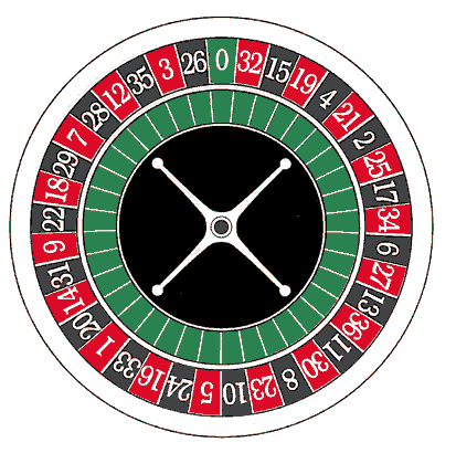 what do the numbers on a roulette wheel add up to 666
