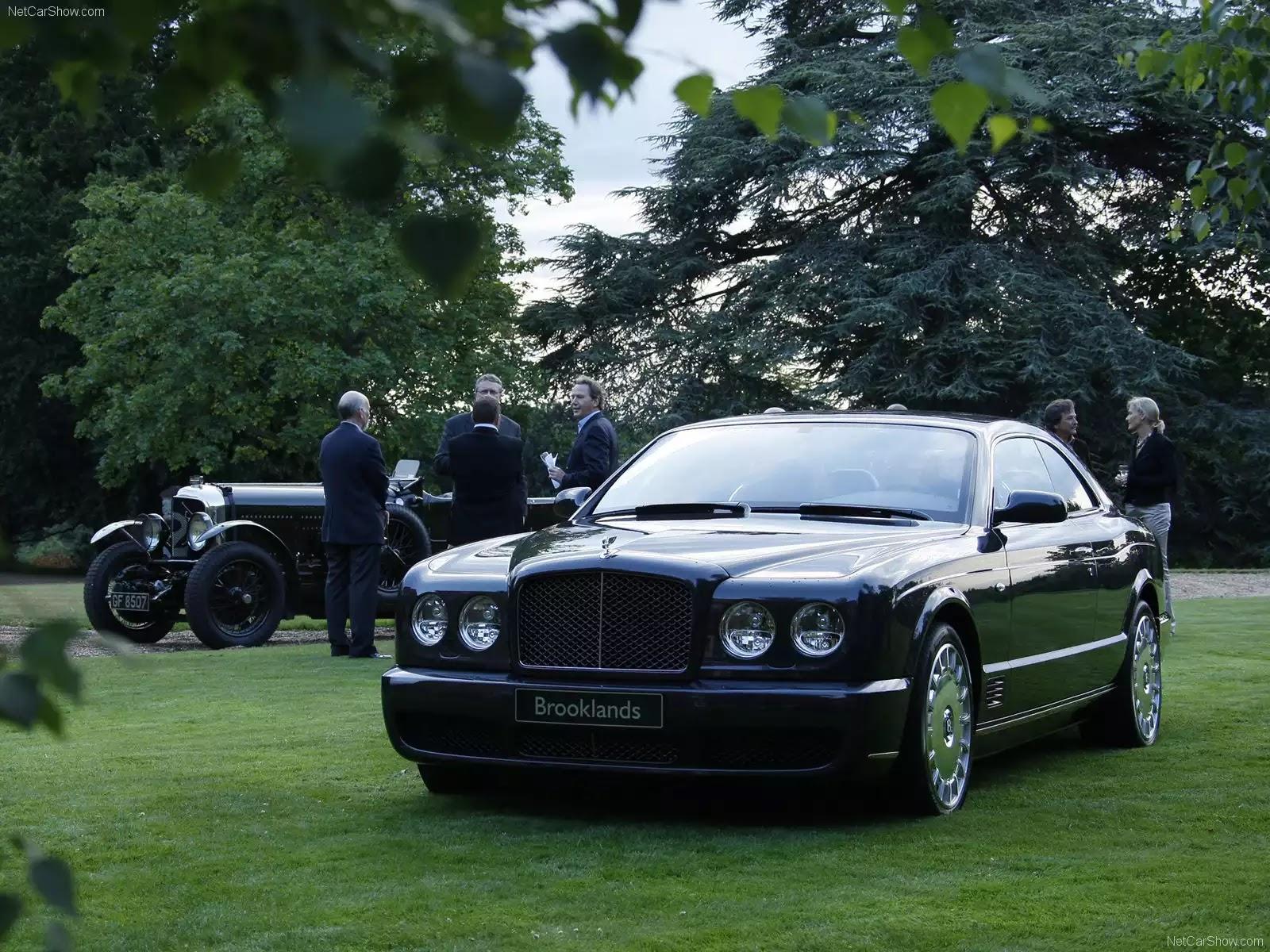 Hình ảnh xe ô tô Bentley Brooklands 2008 & nội ngoại thất
