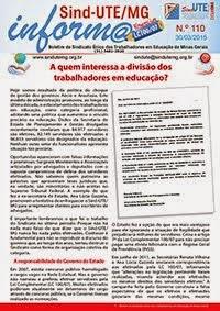Boletim Informa nº 110 - ESPECIAL