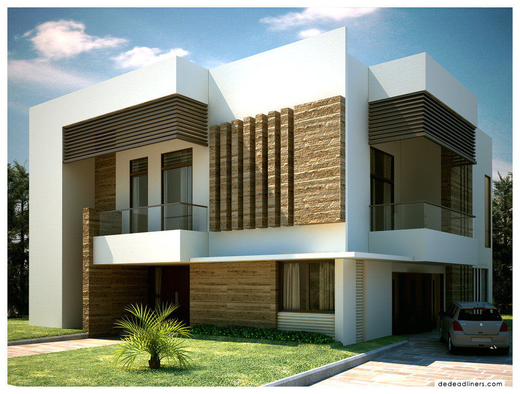 Exterior architecture design art and home designs for Wood house exterior design
