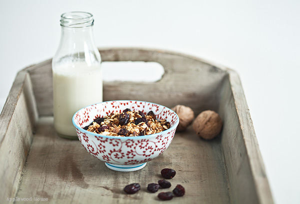 Granola Milch Applewood House