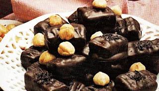 Receta Bombón de Avellana con Chocolate