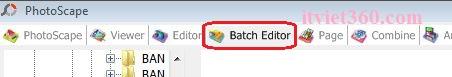 batch editor photoscape thay đổi kích thước hình ảnh hàng loạt