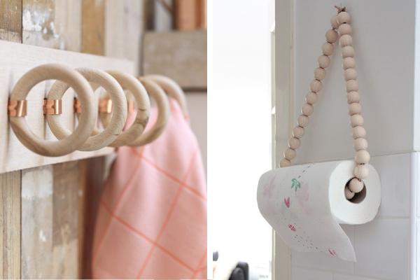 Idee fai da te con il legno blog di arredamento e for Fai da te accessori casa