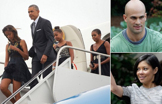 Photos: President Obama & his family attend his chef's wedding