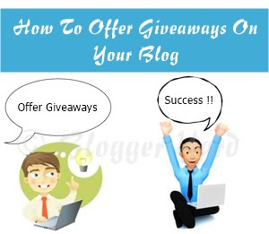 How To Properly Offer Giveaways On Your Blog