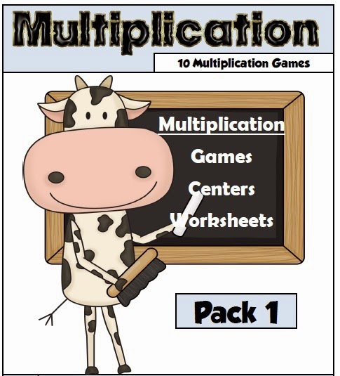 Multiplication Pack 1