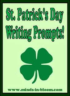 http://www.minds-in-bloom.com/2012/03/20-fun-st-patricks-day-writing-prompts.html