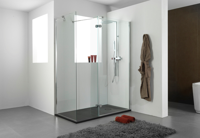 Worry free refurbishments with the land shower plate from - Platos modernos ...