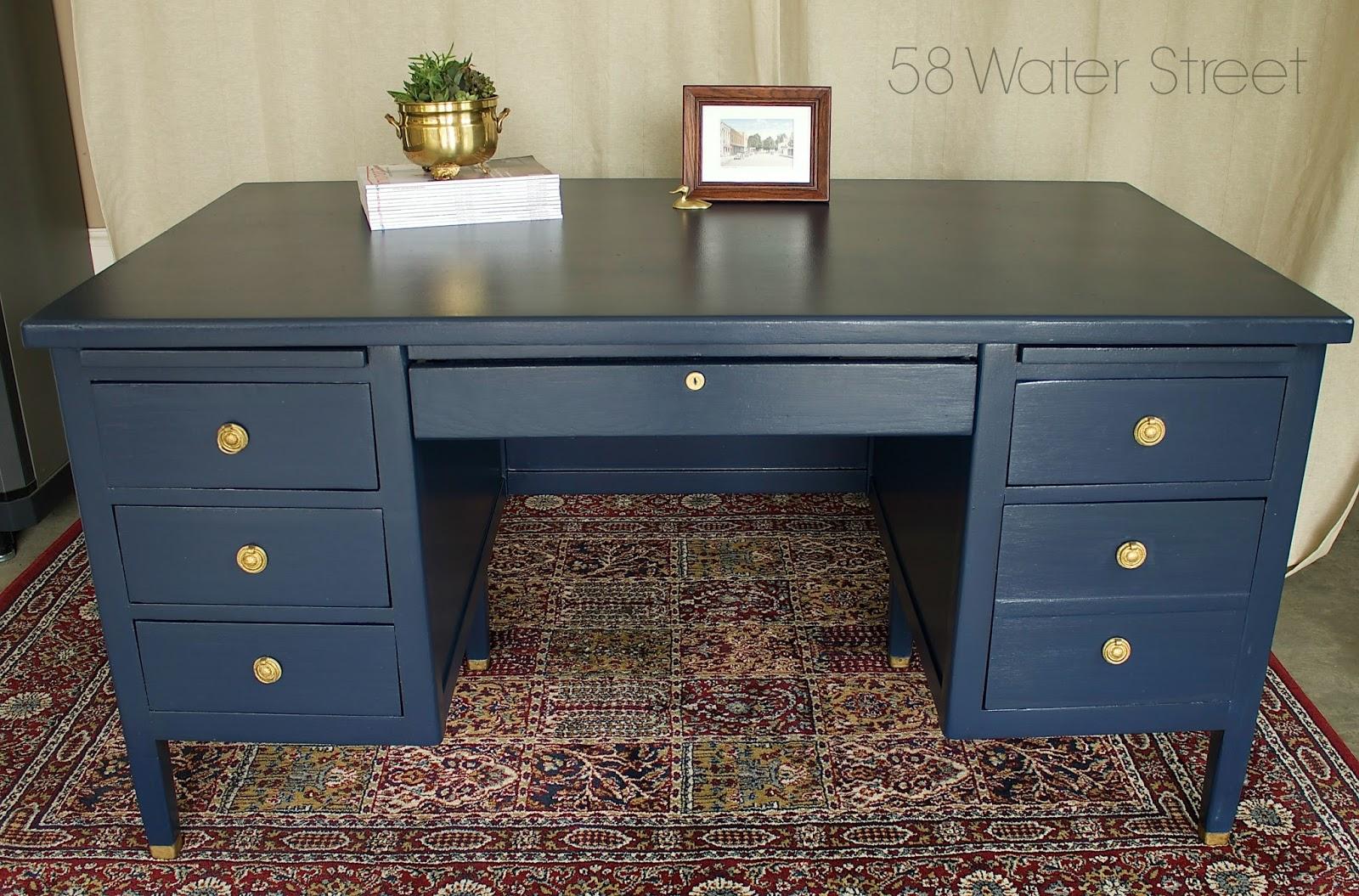 58 water street navy blue desk rh 58waterstreet com navy blue desk lamp navy blue desk pad