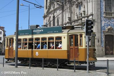 Eletrico no Porto