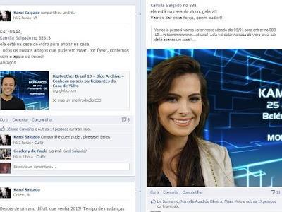 Paraense Kamilla Salgado é Modelo e disputa vaga para o BBB13