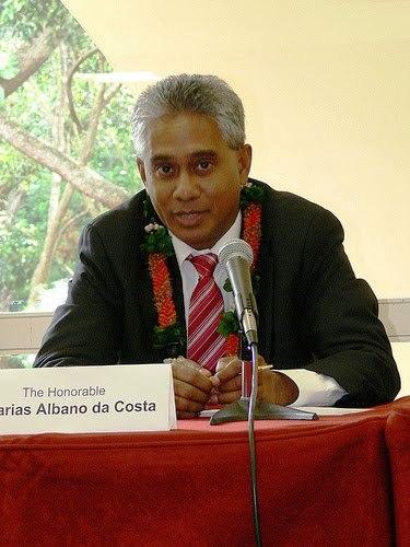 BOA GOVERNAÇÃO É FUNDAMENTAL PARA DESENVOLVIMENTO - MNE Timor-Leste