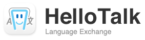 We recommend HelloTalk