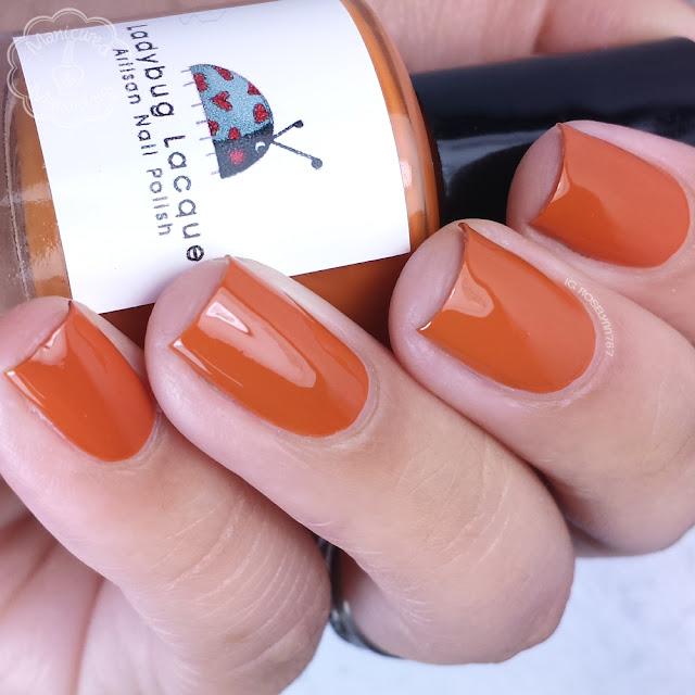 Ladybug Lacquer - Granny's Pumpkin Pie