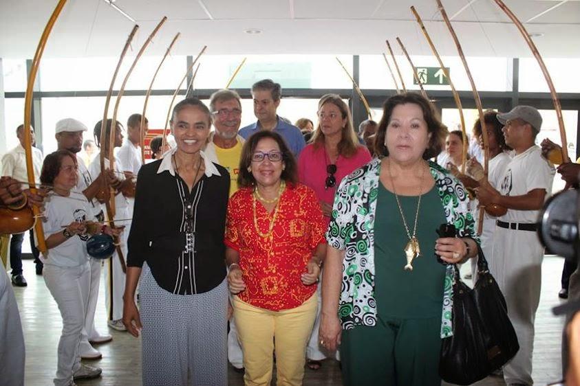 Lídice da Mata e Marina Silva traçam estratégias de crescimento na Bahia