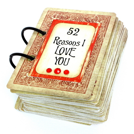 52 reasons i love you cards tutorial | papervine, Modern powerpoint