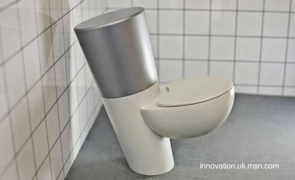 Inodoro futurista diseño original