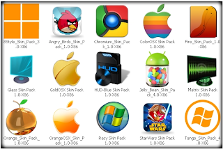 Windows 7 Themes Pack 2012 (x32/x64)