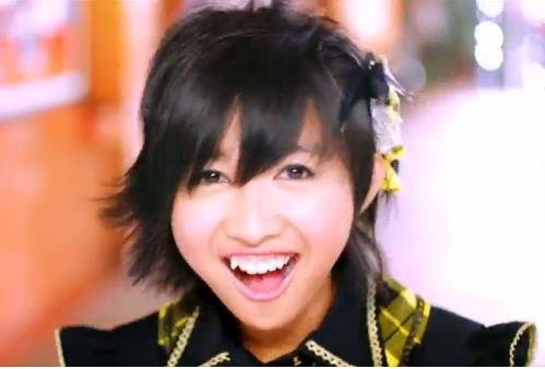 Ghaida JKT48 at MV heavy rotation