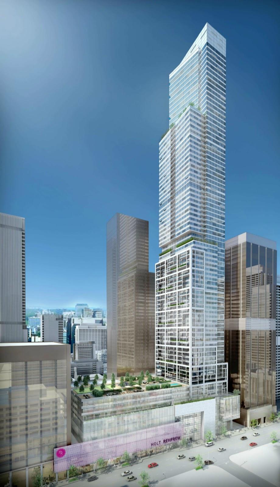 Toronto Skyscraper And Condo Blog Tallest Condo Tower In