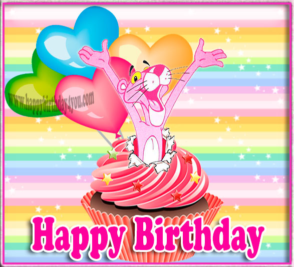 Happy Birthday Pink Panther