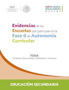 FODA Autonomia Curricular 2017-2018 secundaria