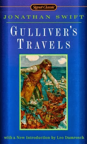 the satirical book of gullivers travels Jonathan swift's gulliver's travels comes third in our list of the best novels written in english robert mccrum discusses a satirical masterpiece that's never been out of print.