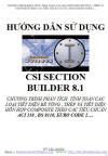 HƯỚNG DẪN SỬ DỤNG CSI SECTION BUILDER 8.1.1 - GIÁ 100.000 VNĐ