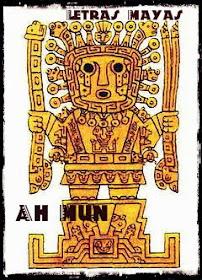 Ah Mun: dios del maíz