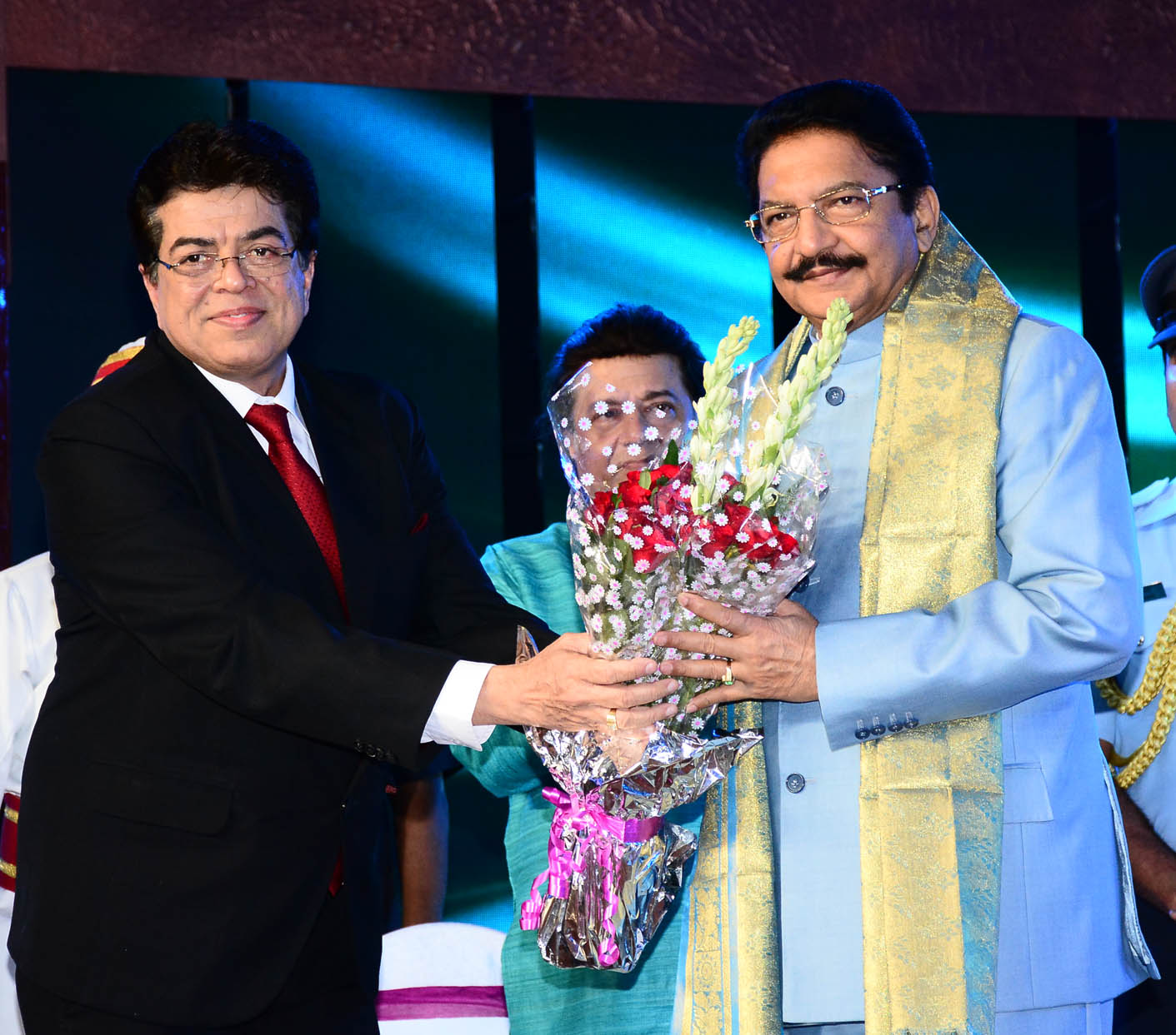 With the Hon'ble Governor of Maharashtra at the DD awards