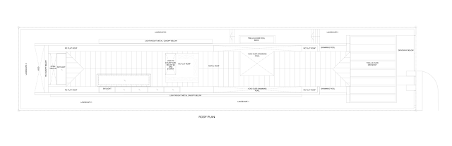 Third floor plan of Jln Angin Laut dream home by Hayla Architects