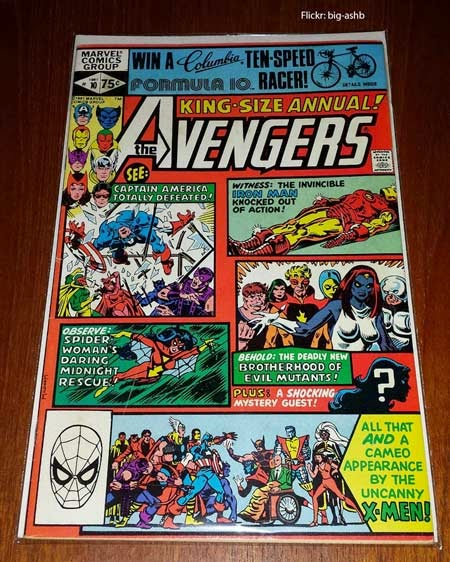 Avengers Marvel Comic Book