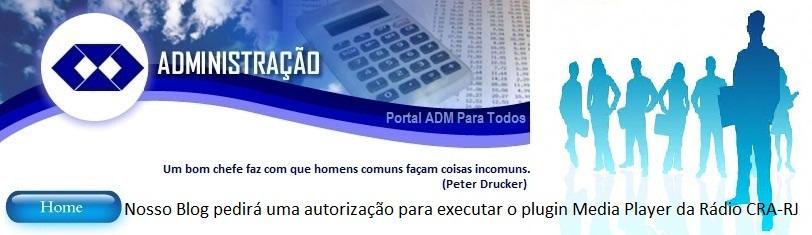 Portal ADMparatodos Tudo sobre administração, carreira e inovação reunidos em um só portal