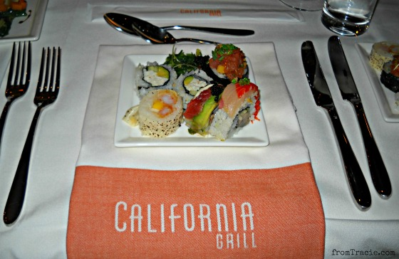 Sushi Plate At California Grill