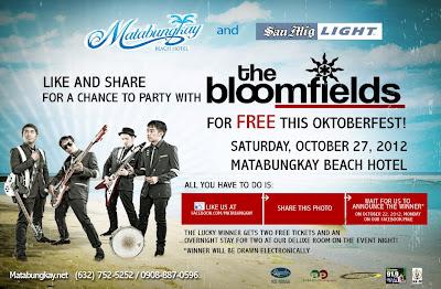 FREE Oktoberfest Party at Matabungkay Beach Hotel