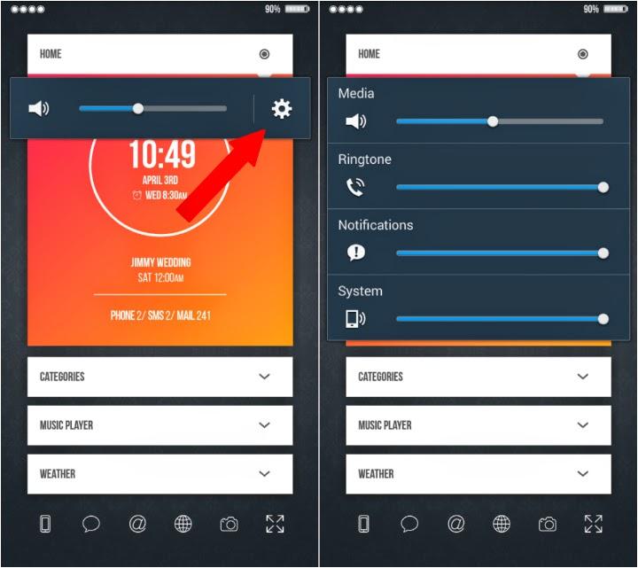 Cara Mengatur Volume Suara di Android